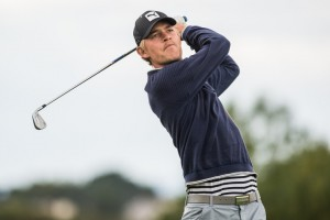 04-09-15 European Challenge Tour 2015,  Cordon Golf Open, Golf Blue Green de Pleneuf Val Andre, Pleneuf, France. 03-06 Sep. Jeff  Winther of Denmark  during the second round.