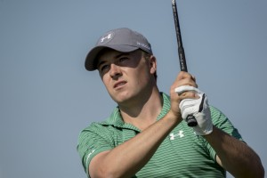 21-01-16 European Tour 2016, Abu Dhabi HSBC Golf Championship, Abu Dhabi GC, Abu Dhabi, United Arab Emirates. 21-24 Jan. Jordan Spieth of United States during the first round..