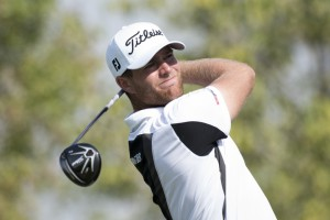 20/11/2015 European Tour 2015, Race to Dubai: DP World Tour Championship, Jumeirah Golf Estates, Dubai, United Arab Emirates. 19-22 nov Lucas Justra  Bjerregaard of Denmark during the second round .