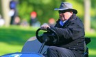 08-10-15 European Tour 2015, British Masters supported by Sky Sports, Woburn Golf Club, Woburn, England, UK. 08-11 Oct. ET Chief referee Andy McGee during the first round.