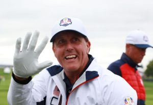 Phil Mickelson ved Ryder Cup 2016